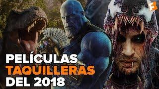 Top 15 - Las películas más taquilleras del 2018