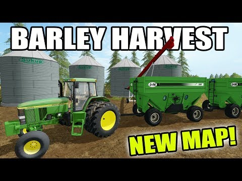 FARMING SIMULATOR 2017 | NORTHERN ALBERTA FARMING | BARLEY HARVEST | MULTIPLAYER |  EP #1