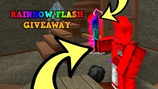 COMMENT GAGNER LE MOST RAREST KNIFE ON MMX! 'RAINBOW FLASHMD' (ROBLOX MMX RAINBOW FLASH GIVEAWAY)