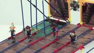 Plants Vs  Zombies Toys:  Pirate Seas Plank Walk Building Set