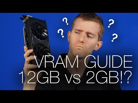 How much VRAM do you need?  Tech Tips