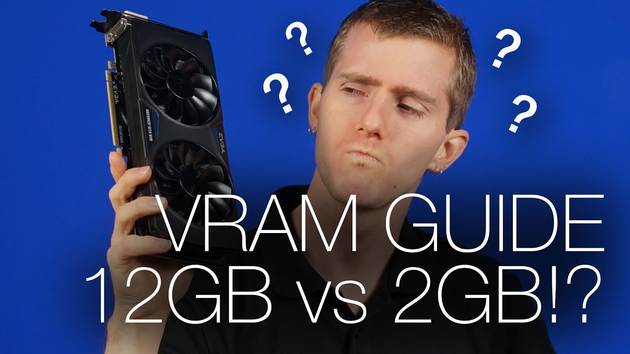 How much VRAM do you need? - Tech Tips - YouTube