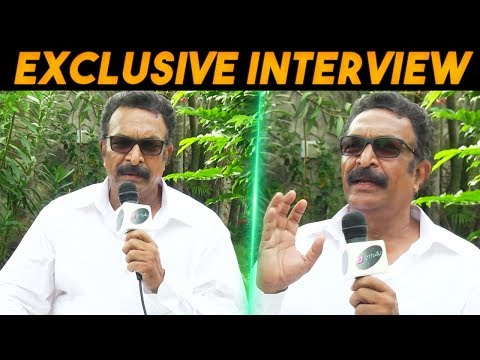 Exclusive Interview with Actor Nassar - I don't know any other language other than tamil