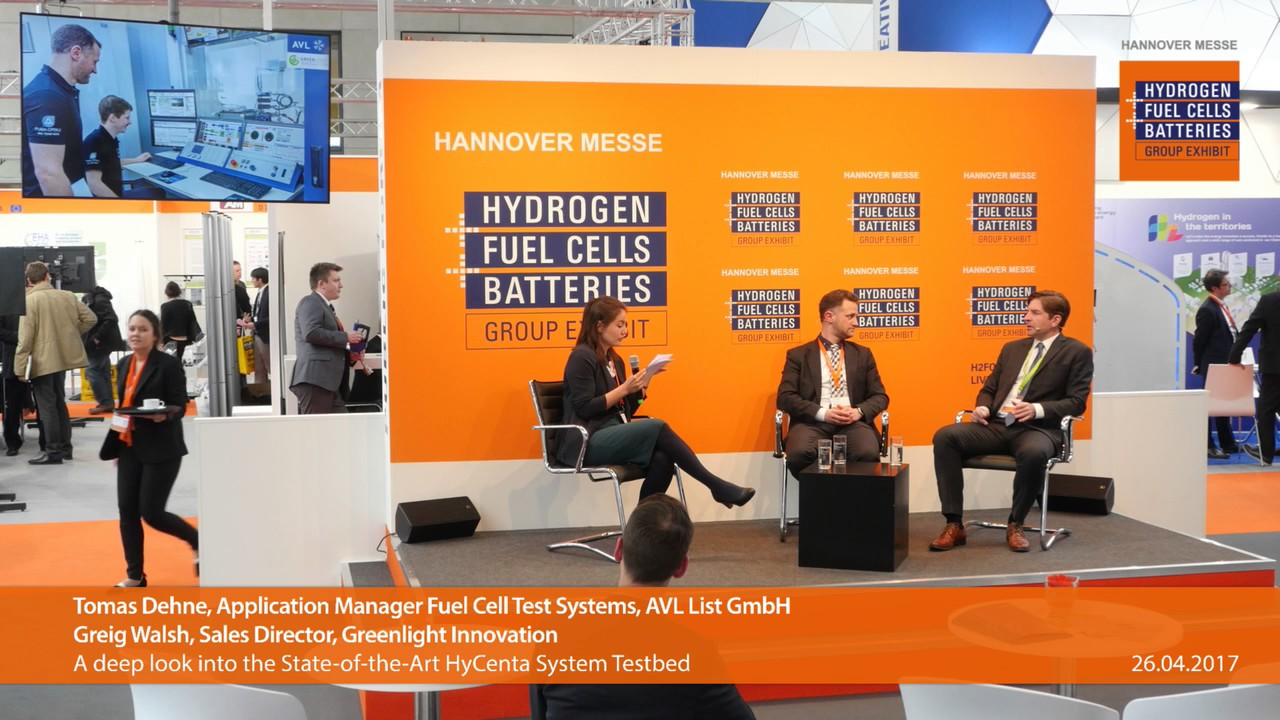 AVL List GmbH at Europe's largest hydrogen, fuel cells and