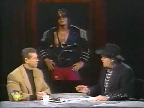Vince McMahon Infamous 'Bret Screwed Bret' Interview On WWF Raw Is War 1997.11.17 Part 1