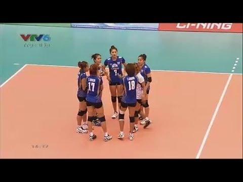 ไทย - เวียดนาม เซต 1:วอลเลย์บอล VTV CUP 2014:17-05-2014