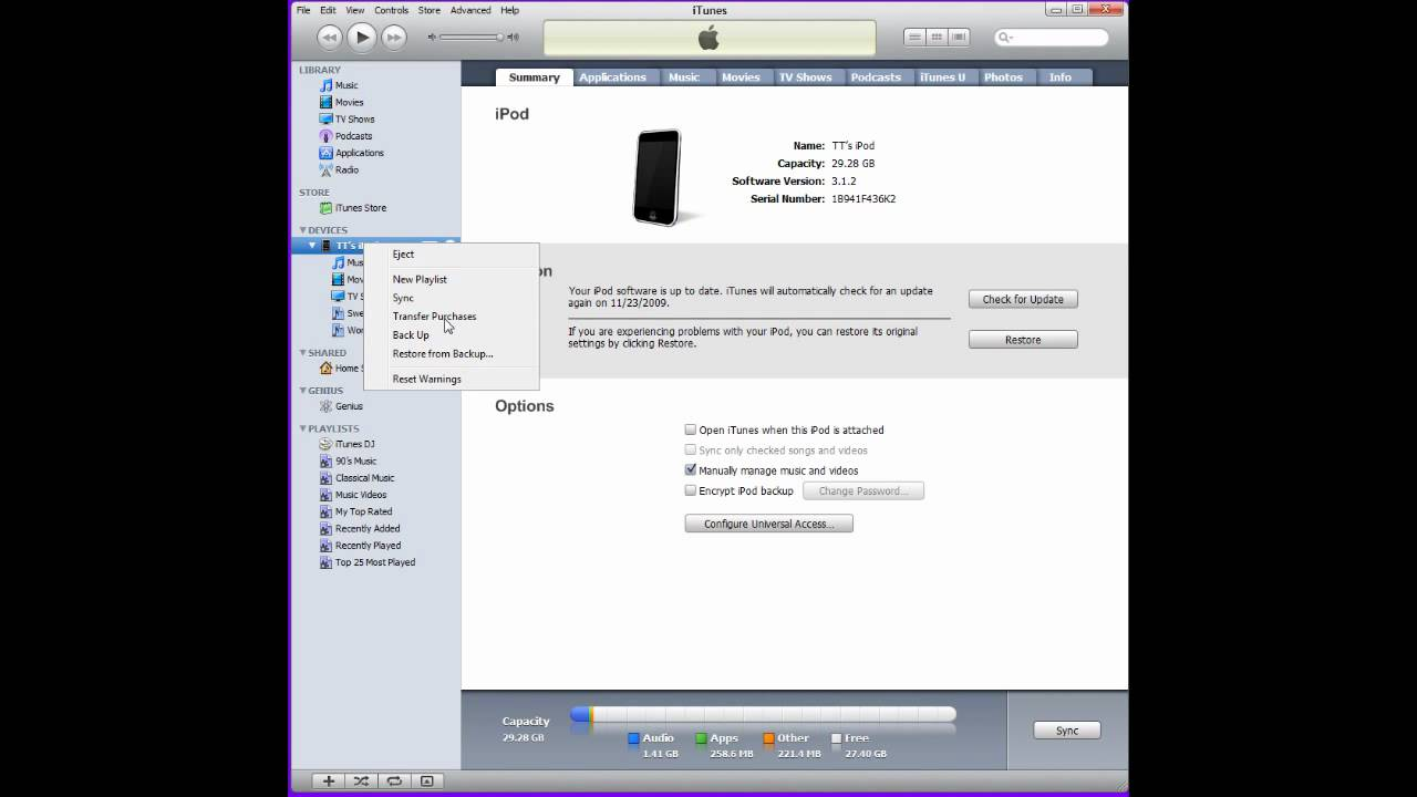 How To Sync Apps From Ipod Touch To Itunes Without Deleting Apps