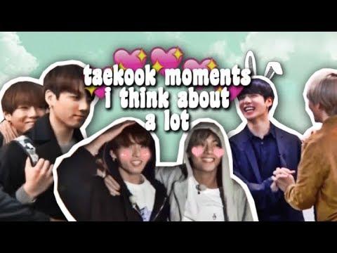 taekook moments i think about a lot