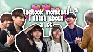 taekook moments i think about a lot