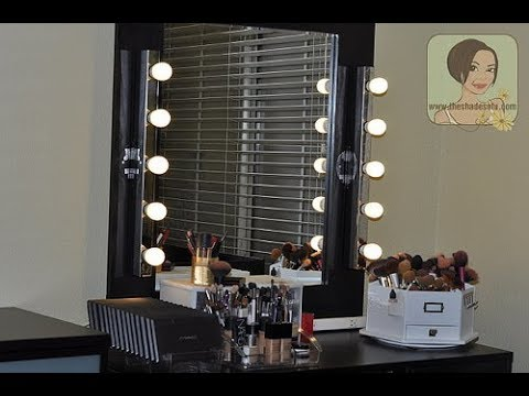 Diy Vanity Mirror Ikea You, Make Your Own Vanity Mirror Ikea