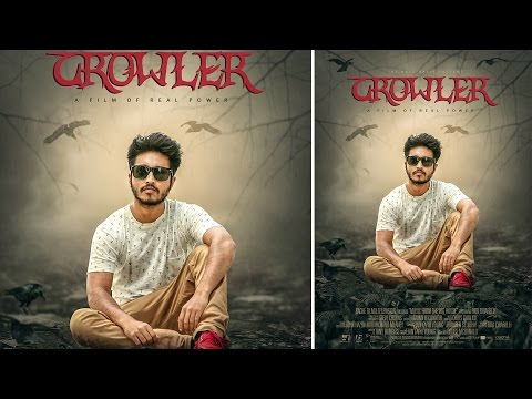 The Crowler Movie Poster Design | Photoshop Manipulation Tutorials