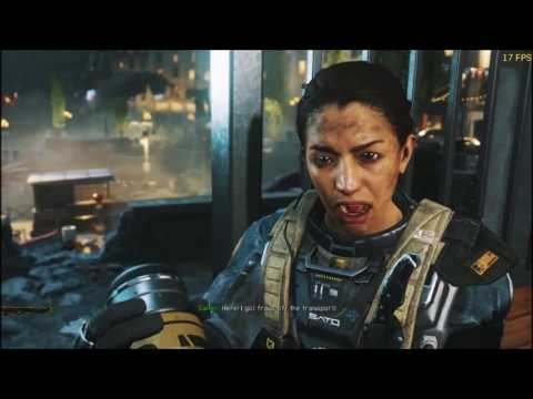Call Of Duty Infinite Warfare Gameplay  ATI Radeon HD 6850