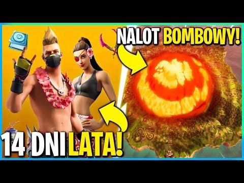 AKTUALIZACJA 9.31 - 14 DNI LATA, NALOT BOMBOWY, NOWA BROŃ! (Fortnite Battle Royale)