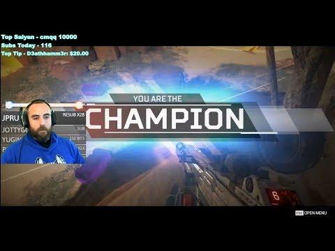 Bajheera - FIRST WIN IN APEX LEGENDS!!! - Apex Legends [PC] Pathfinder Gameplay