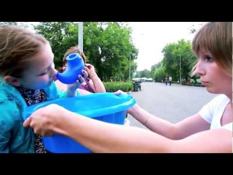 Как промыть нос в -