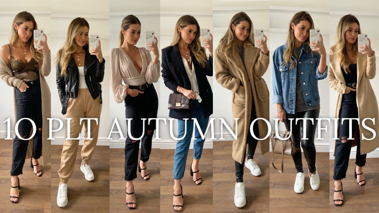 [VIDEO] - 10 AUTUMN PRETTY LITTLE THING OUTFITS | MODEL MOUTH | PLT HAUL 4