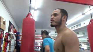 """man who makes boxing shoes big times brandon rios """"only works with big fighters!!!"""" EsNews Boxing"""