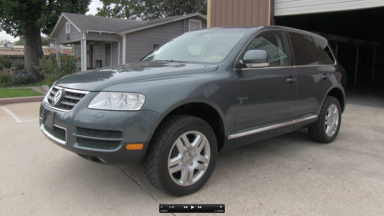 2005 Volkswagen Touareg V8 Start Up Exhaust And In Depth Tour You