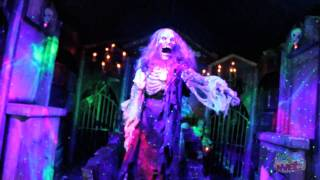 Haunted shooting gallery from Scare Factory at IAAPA Expo 2011 in Orlando