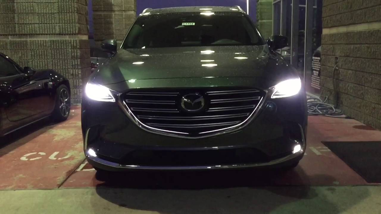 signature lighting. Mazda CX-9 Signature Edition Joe Myers Located On Hwy 290 - YouTube Lighting