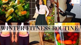 EASY WINTER FITNESS + WEIGHT LOSS ROUTINE 2017 | Weight Loss Tips