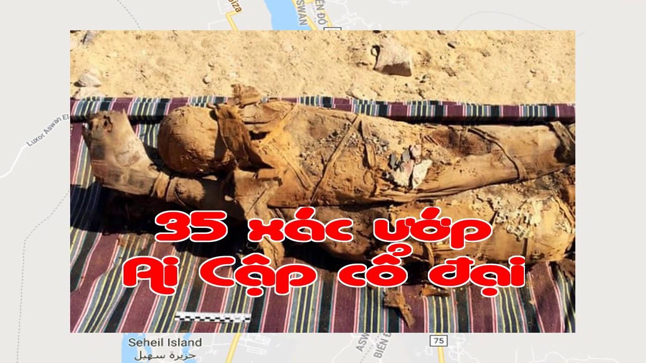 Phát hiện 35 xác ướp Ai Cập cổ đại