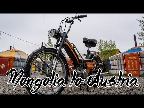 From Mongolia to Austria on a 50cc Moped   Maxi Touring the ultimate Adventure