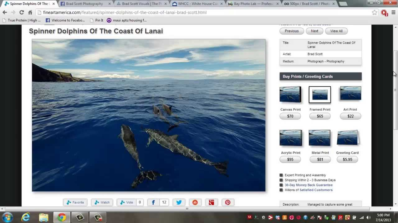 Top 5 Best Websites for Selling and Printing Photography