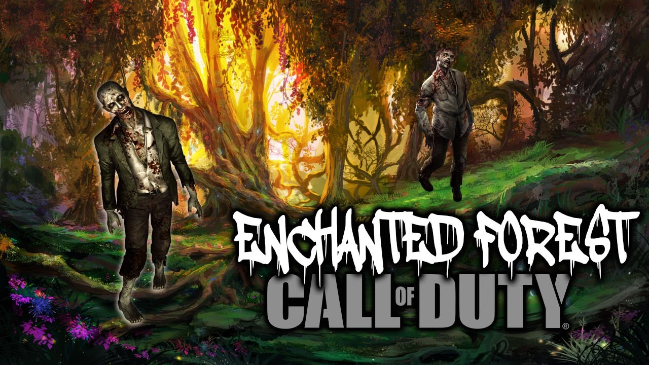 Download ENCHANTED ZOMBIE FOREST (Call of Duty Zombies Map)