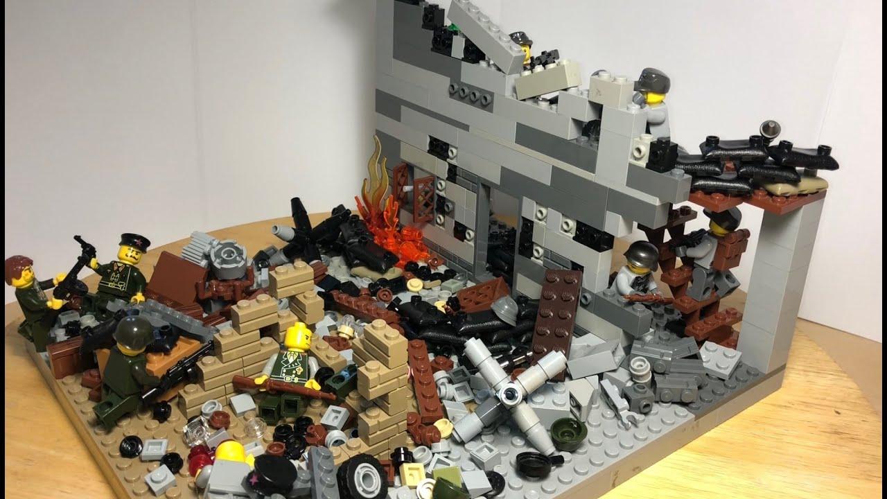 "Лего Самоделка на тему Великая Отечественная Война! ""Битва за Берлин""!"