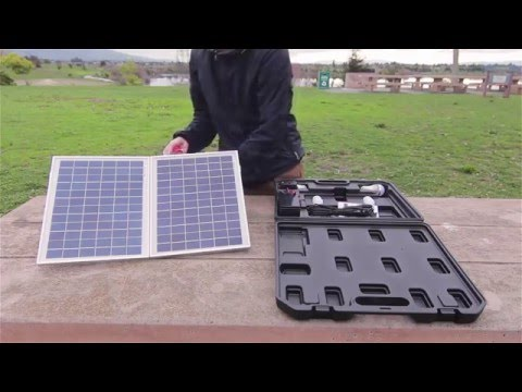 Wagan Tech Solar E Power PAC (#2549) - Unboxing & Features