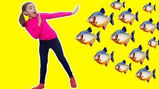 pești de aur inelari