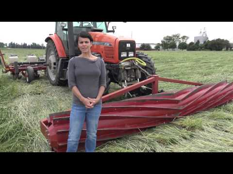Advances Using The Roller-crimper For Organic No-till In Wisconsin