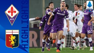 Fiorentina 1 1 Genoa Milenkovic With A Last Gasp Equaliser Serie A TIM