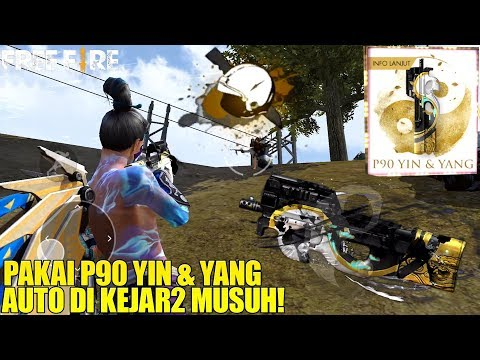 WEAPON ROYALE P90 YIN & YANG - SKIN PALING OP! AUTO RATAIN SEMUA WARGA MAD DOG?!? FREE FIRE