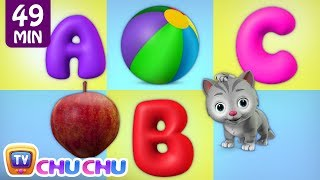 ABC Alphabet  Numbers for Kids - ChuChu TV Learning Songs for Kids