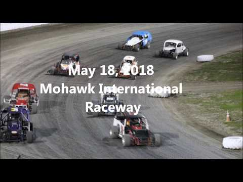Dirt Modified Nostalgia Tour Feature May 18 @ Mohawk International Raceway