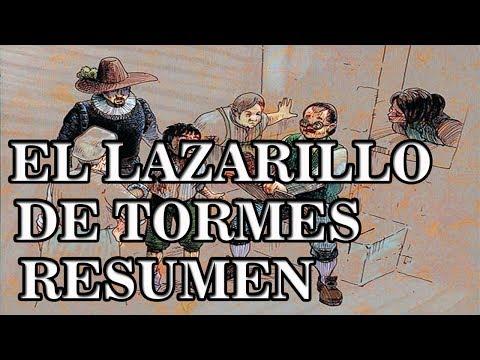 LAZARILLO DE TORMES - RESUMEN Y RESEÑA