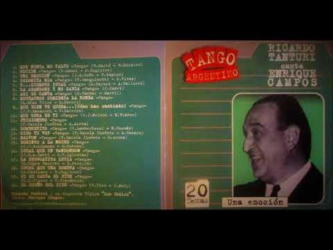 Ricardo Tanturi - Enrique Campos - 20 Tangos - CD Completo