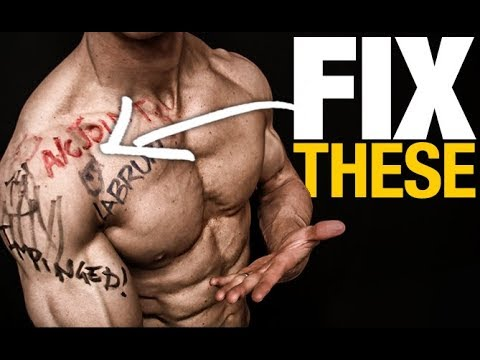 Fix Your Shoulder Pain (BENCH PRESS!)