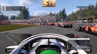 F1 2018 Career Mode Season 1 - Circuit Gilles Villeneuve Qualifying And Race - PC 1080P60 HD