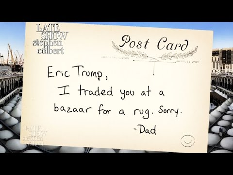 Postcards From Trump