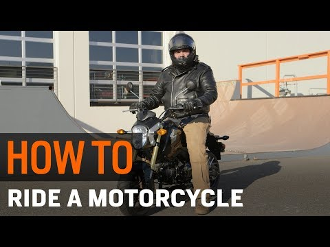 How To Ride a Motorcycle at RevZilla.com