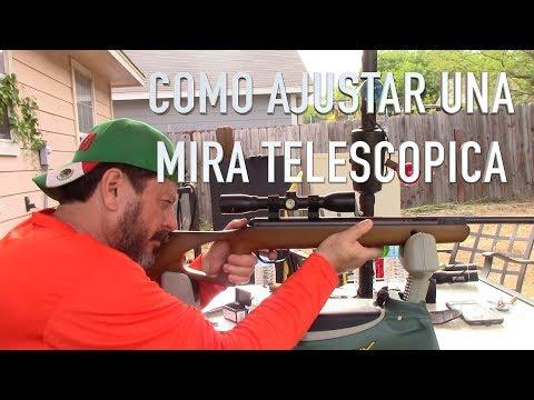 Cómo Ajustar una Mira Telescópica ( 1/3 ) Rifles de Aire ( 2/ )