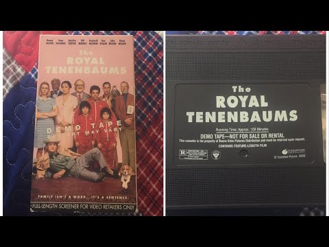 Opening to The Royal Tenenbaums 2002 Demo VHS [True HQ]
