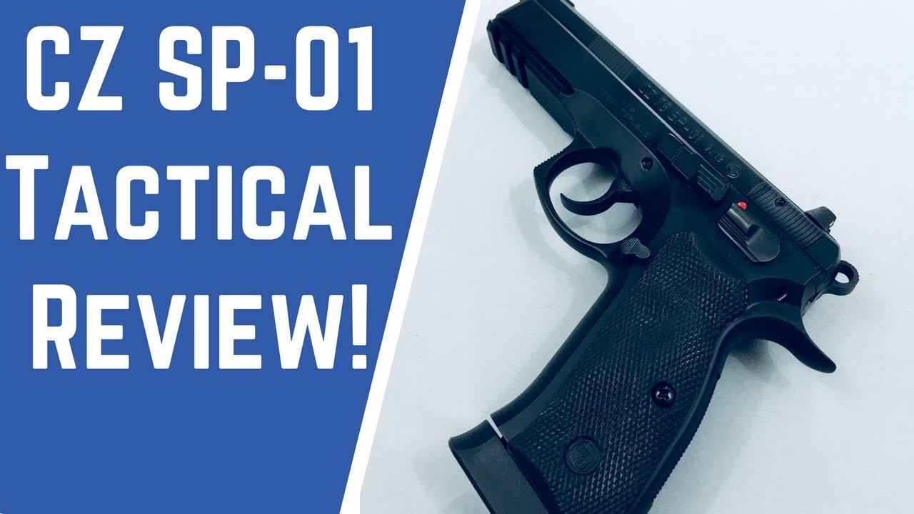 CZ SP 01 Tactical Review (Top 3 Reasons This Pistol Rocks!)