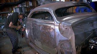 Bare Metal 1940 Mercury Coupe - Metal Shop Kustoms & Coachworks - Shop Profile - Eastwood