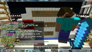 Cracked 1.7.2 Minecraft Server!! [skyblock][walls][hungergames][factions][mcmmo][pvp]