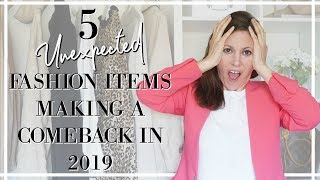 5 Fashion Trends Spring / Summer that are making a comeback in 2019 |