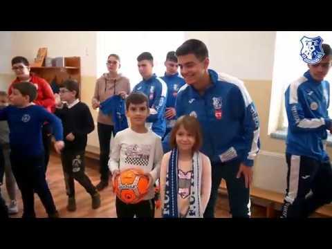 """""""Joacă fotbal cu FC Farul Constanța"""", la Școala nr. 18 Jean Bart Constanța"""